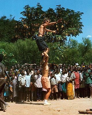 høj afrikansk køn